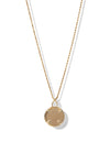 Zion Rope Necklace <br> Gold