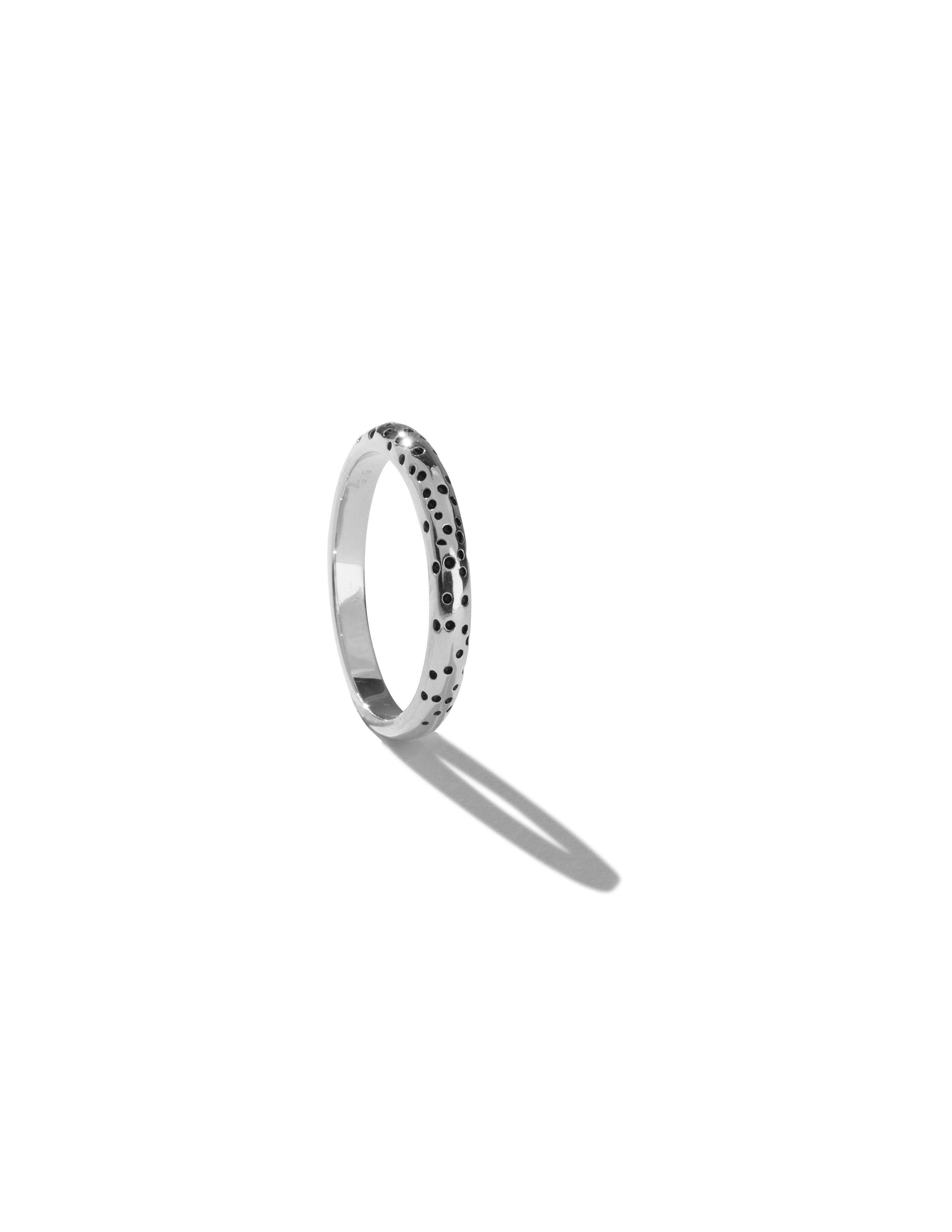 Surface ring silver-The World Is Not Enough Collection -Overload Studios