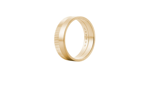 Structured Slim One 4MM - Gold