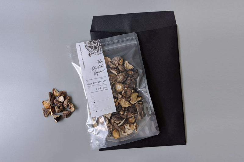 [THE SHIITAKE ORGANIC] Organic log dried shiitake mushroom 100g