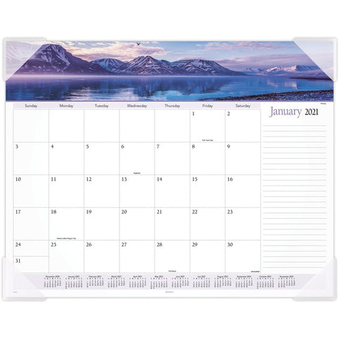 ACCO Brands Corporation Panoramic Landscape Monthly Desk Pad