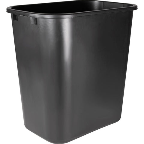 Sparco Products Rectangular Wastebasket