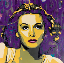 "Load image into Gallery viewer, ""Hedy Lamarr"" Anette Borge"