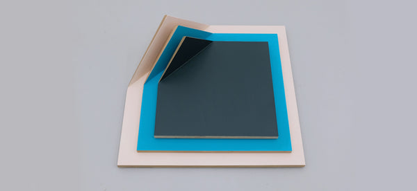 Partially Folded Square Paintings
