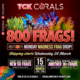 Monday Madness Frag Drop! Spring Sale Event!