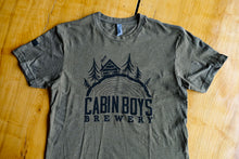 Load image into Gallery viewer, Green Cabin Boys Logo Tee