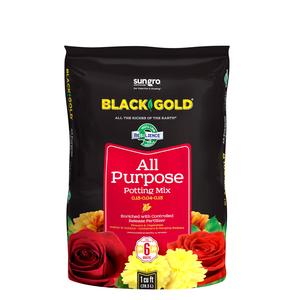 Black Gold [8 Qt] All Purpose Potting Mix