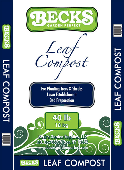 Becks Leaf Compost 40lb Bag