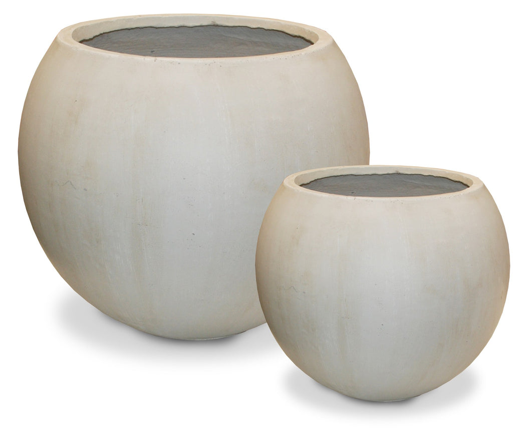 Full Moon Planter - Ivory (2 Sizes)