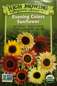 SEEDS: Sunflower - Evening Colors - Organic