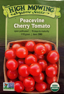 SEEDS: Tomato - Peacevine Cherry - Organic