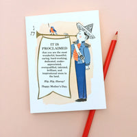 Mother's Day Trumpeter Card