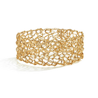 "MetaLace Gold 1"" Bangle"