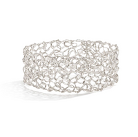 "MetaLace Sterling Silver 1"" Bangle"