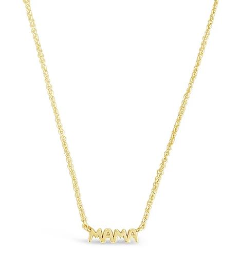 Mama Necklace: Gold