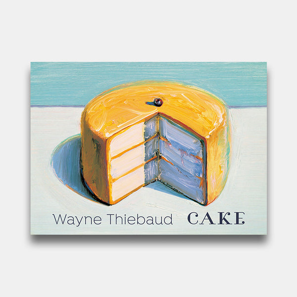 Wayne Thiebaud Cake Boxed Notes