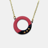 Manda Wylde Small Red Pendant on Chain