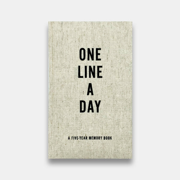Linen One-Line-A-Day Memory Book