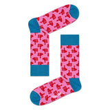 Pink Thumbs Up Socks