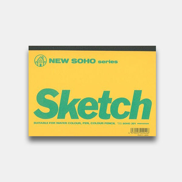 New Soho Series Mini Sketch Pad