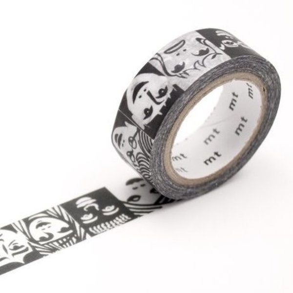 Erik Bruun Face Washi Tape