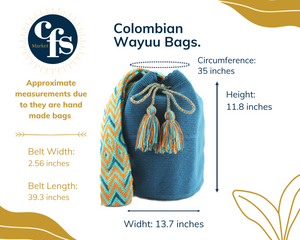 100% Colombian Handmade Bag (Mocaná)