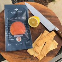 Woodsmoke's Verlasso Blue Label Smoked Salmon (Nova style)