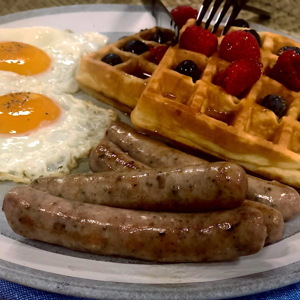 American Butcher Breakfast Links 1oz each (128 links, frozen)