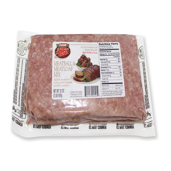 Catelli Butcher's Blend Pork, Beef & Veal ground (2 lb bag, frozen)