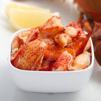Cooked Maine Lobster Claw and Knuckle Meat (2lb bag, frozen)