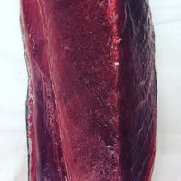 "Wild Yellowfin, Fresh Tuna Loin (2.5lb average weight), ""bread loaf cut"""