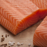 Verlasso Salmon fillets, 2.5lb each, skin on, scaled, pin-bones