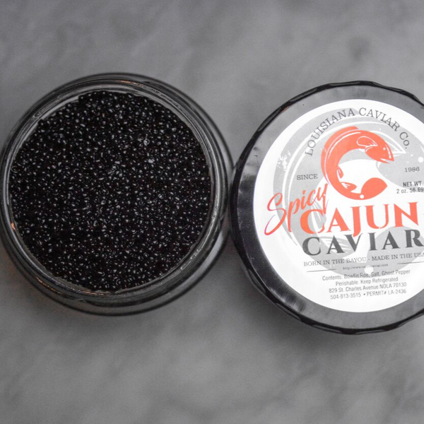 Cajun Caviar Ghost Pepper, 2 oz Jar