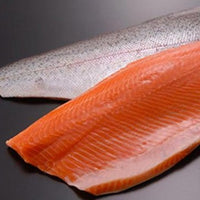 Salmon fillets 2.5lb average fillet, skin on, scaled, pin-bones removed (farmed, fresh)