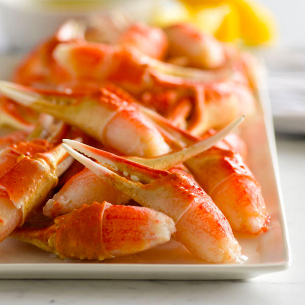 Canadian Snow Crab Cocktail Claws, Large IQF (Cooked, 50-60ct per 3lb bag, frozen)
