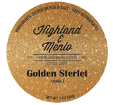 Highland & Menlo Golden Sterlet Caviar (1oz jar)