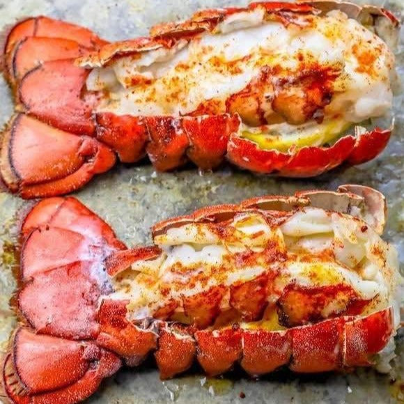 Frozen Maine Lobster Tails, a 6 pack of 3-4oz tails (frozen)
