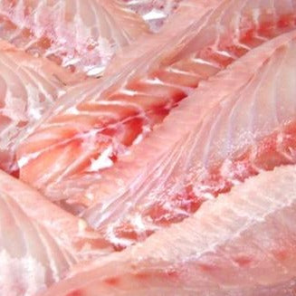 Wild, Domestic, Red Grouper fillets, skin-off, pin-bone removed (2.5lb case, fresh)