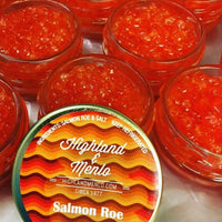 Highland & Menlo Salmon Roe  (1oz jar)