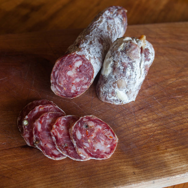 American Butcher Soppressata (8oz stick, cured)