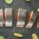 "Norwegian Fjord Salmon Trout ""Steelhead"" Skin On Portions (5, 6oz portions, fresh)"