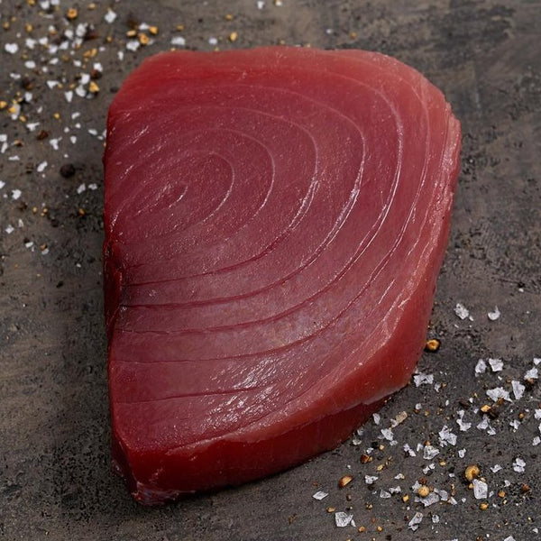 Wild Yellowfin Tuna Steaks 6oz each (5 fresh pieces) skin/off, boneless, center cut