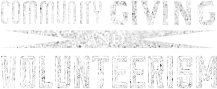Community Giving and Volunteerism