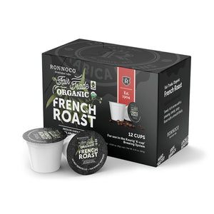Ronnoco One Cup Fair Trade Organic French Roast