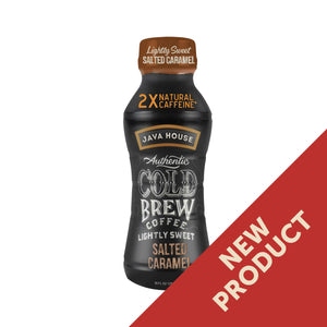 Java House Cold Brew Coffee - Lightly Sweet Salted Caramel, 10 oz.