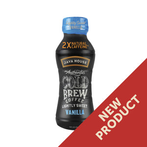 Java House Cold Brew Coffee - Lightly Sweet Vanilla, 10 oz.