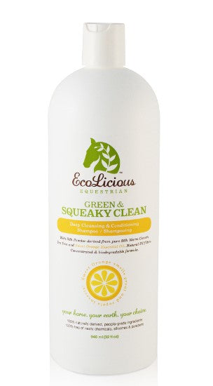 Ecolicious Green and Squeaky Clean Shampoo (32 oz)