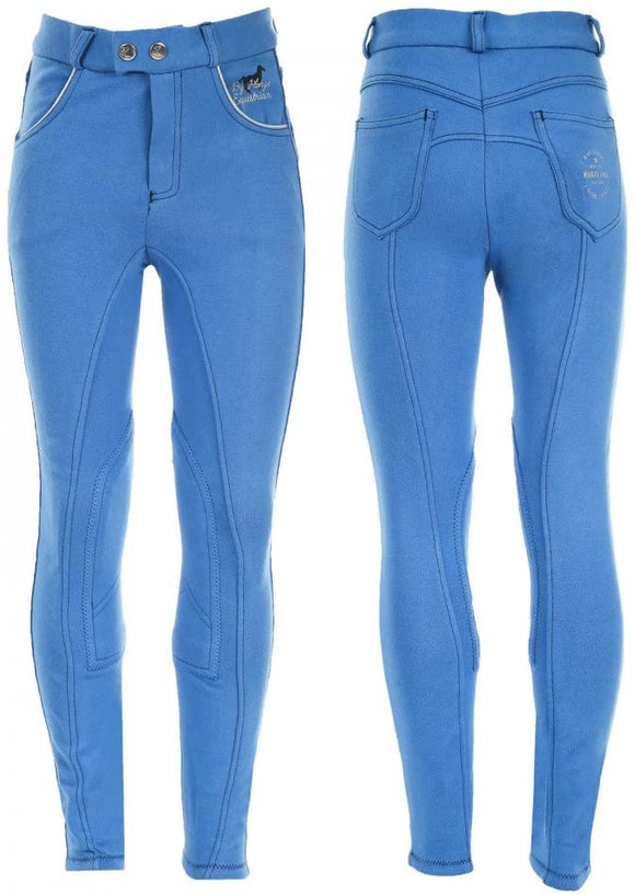 Horze Jen Jr.  Knee Patch Breeches