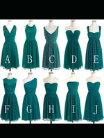 Short Chiffon Bridesmaid Dresses MBD001