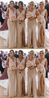 Floor Length Chiffon Bridesmaid Dresses MBP019